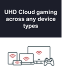 UHD Cloud gaming across any device types