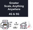 Greater Scale, Anything, Anywhere 4G & 5G