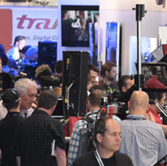 Crowd of people at NABShow