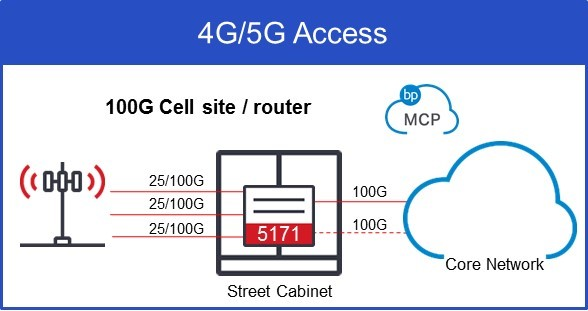 Ciena 5171 Outside Cell Site or Cell Router Service Delivery