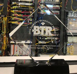 BTR Award close up