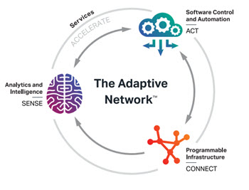 The wheel illustration the Adaptive Network framework