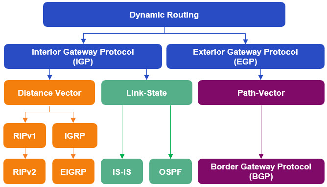 Dynamic Routing chart