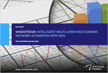 Windstream: intelligent multi-layer/multi-domain network automation with SDN