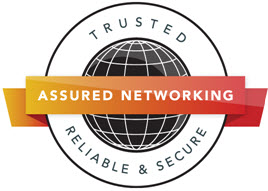 Assured Networking and SMLR logo
