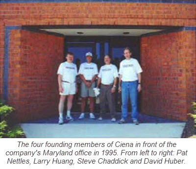 Founding members of Ciena 1995