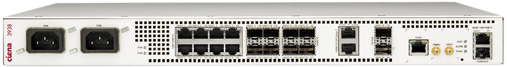 Ciena 3938 Front view