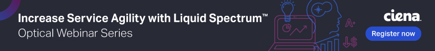 Increase Service Agility with Liquid Spectrum webinar banner promo