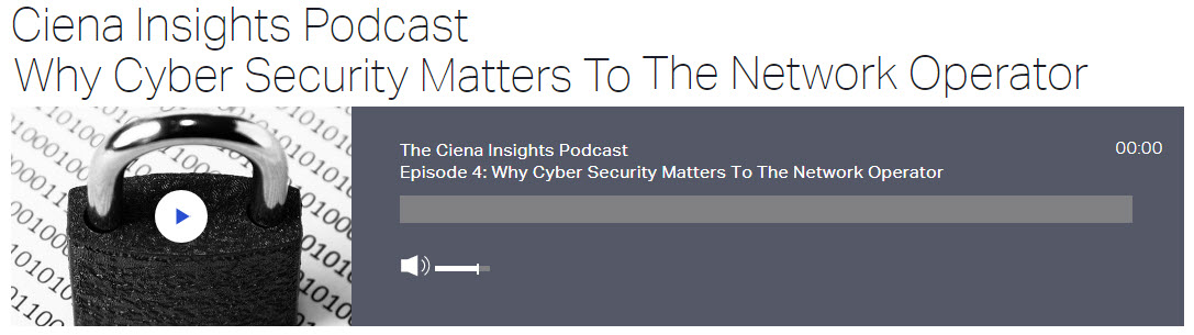Cybersecurity Podcast banner promo