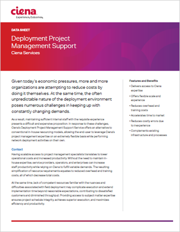 Deployment Project Management Support