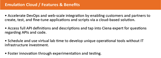 Emulation Cloud features and benefits