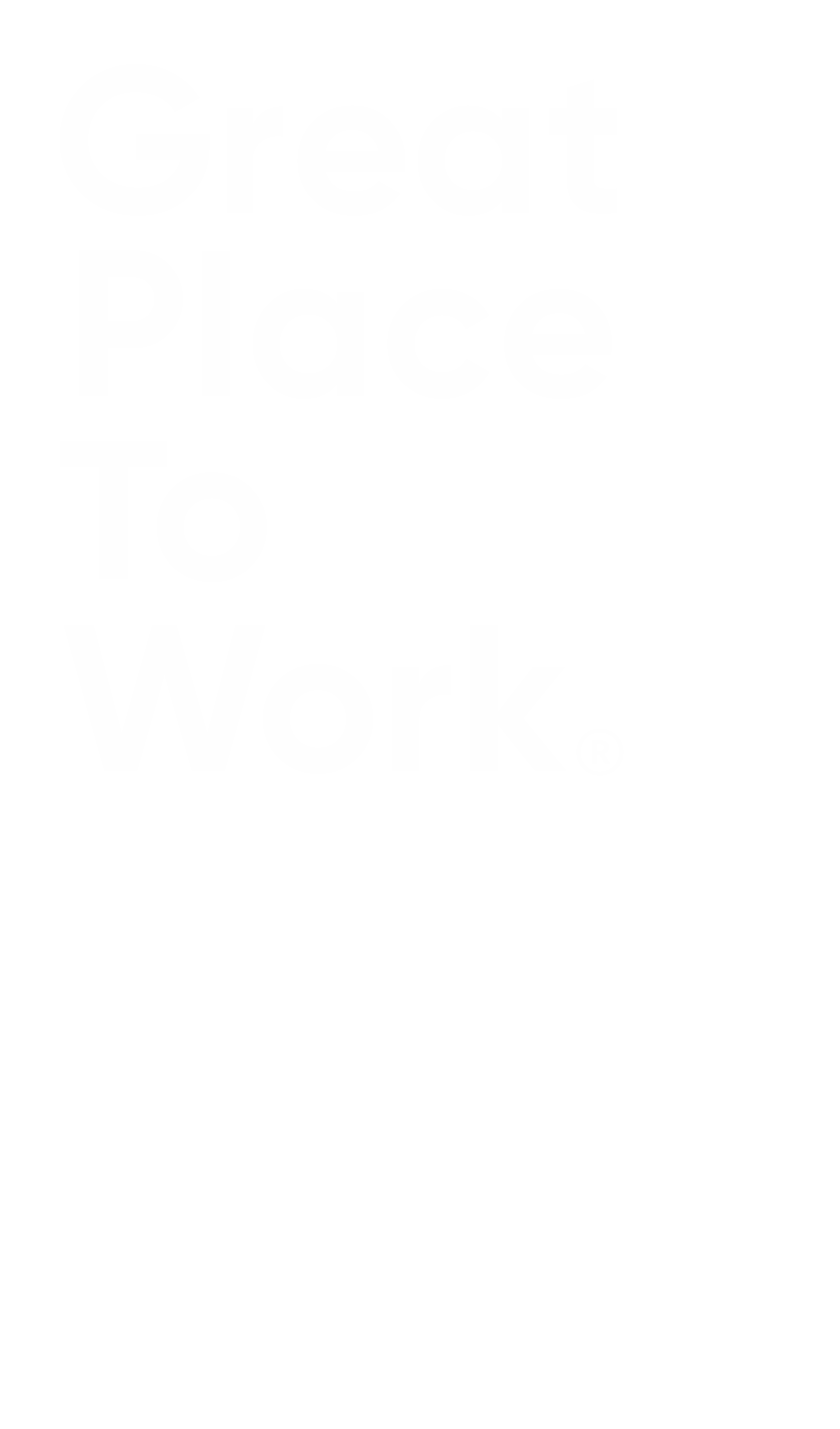 White Great Place to Work logo 2020