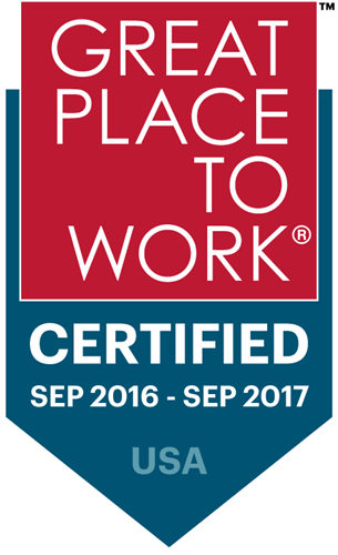 Great Place to Work 2016-2017 logo