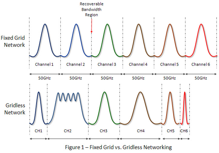 Fixed Grid vs. Gridless Networking graph
