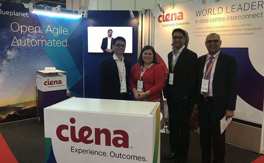Ciena group at HK DC World