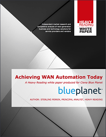 Heavy Reading: Achieving WAN Automation Today