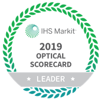 IHS Markit 2019 Optical Scorecard logo