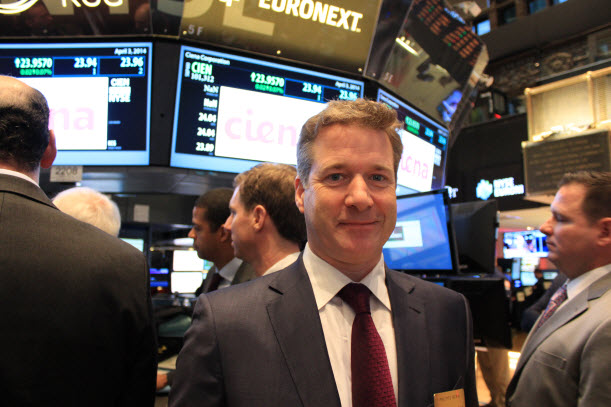 Philippe Morin on the NYSE trading floor.