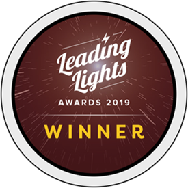 Leading Lights Awards 2019 Winner Banner
