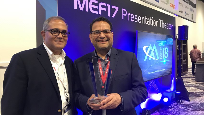 Raghu Ranganathan and Marco Naveda at MEF 2017
