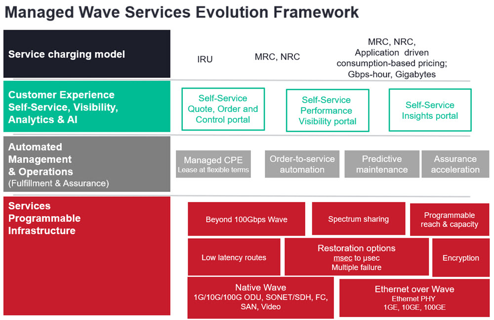 Managed Wave Services Evolution Framework figure