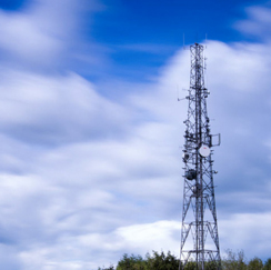 Image of a tower and sky