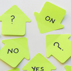 Yes/No stickies