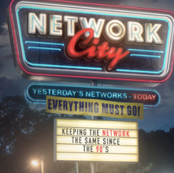 Network City sign