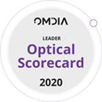 Omdia Optical Scorecard 2020 Leader Badge