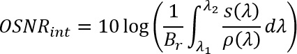 OSNR equation