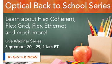 Optical Back to School Webinar promo