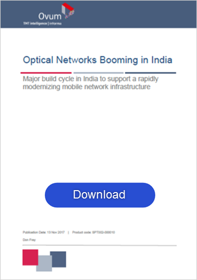 Optical Networks booming in India white paper promo