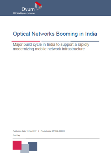 Optical Networks Booming in India