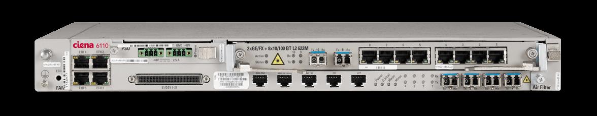 6110 Multiservice Optical Platform Product Ciena Ciena
