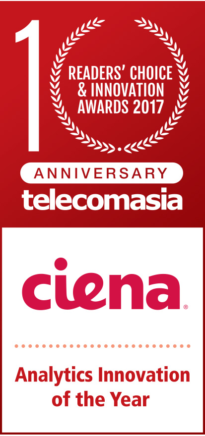 Readers' Choice & Innovation Awards 2017 Ciena Analytics Innovation of the Year