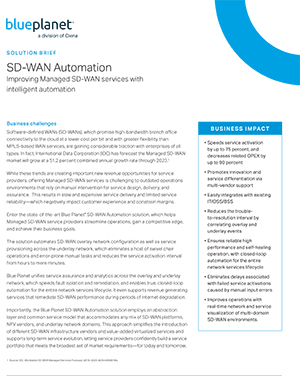 SD-WAN Automation Solution Brief Thumbnail