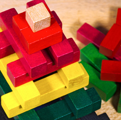 Colored Blocks image