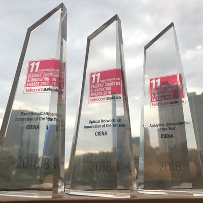 Image of Ciena's awards