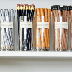 Jars of pens/pencils