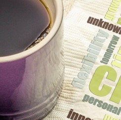 Coffee and word cloud image