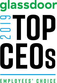 Glassdoor 2019 Top CEOs logo