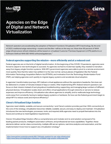 Agencies on the Edge of Digital and Network Virtualization Infobrief thumbnail