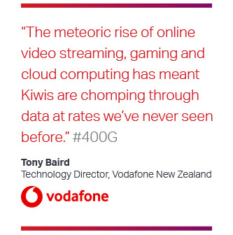 Tony Baird from vodafone quote