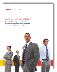 Ciena Government Solutions white paper thumb