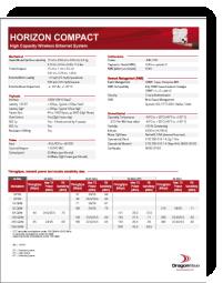 dragonwave horizon compact datasheet 186x240