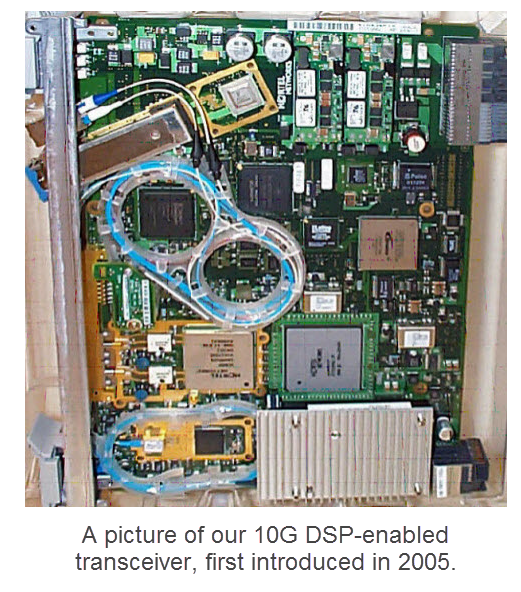 10G DSP-enabled transceiver