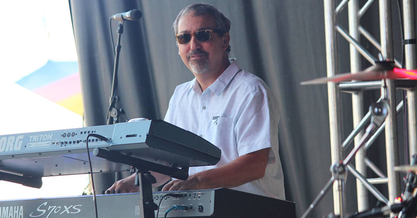 Ciena's Francois Tessier on keyboards