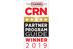 2019 Partner Program Guide Winner logo