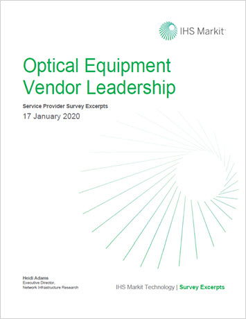 IHS Markit: 2020 Optical Equipment Vendor Leadership Survey Excerpts whitepaper thumbnail
