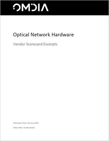 Omdia: 2020 Optical Network Hardware Vendor Scorecard Excerpts whitepaper thumbnail